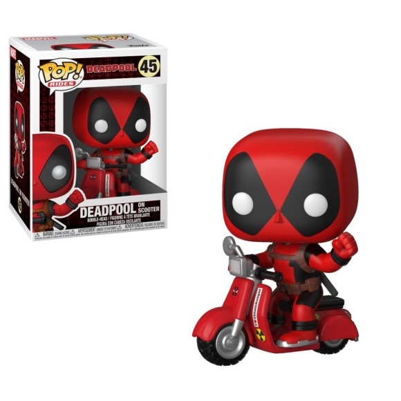 POP DEADPOOL ON SCOOTER 48 EDIÇÃO ESPECIAL - FUNKO