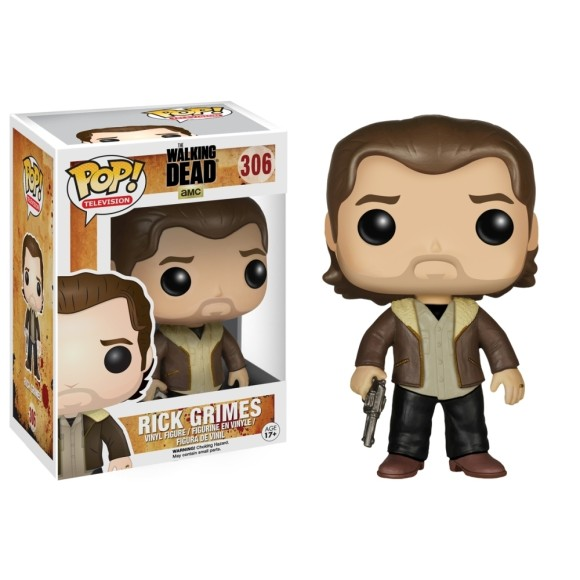 POP RICK GRIMES THE WALKING DEAD 306 - FUNKO