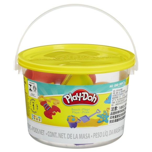 PLAY DOH MINI BALDE PRAIA 23242 - HASBRO