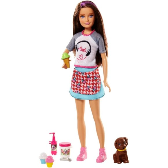 BARBIE IRMÃ CHEF SKIPPER MORENA FHP62 - MATTEL