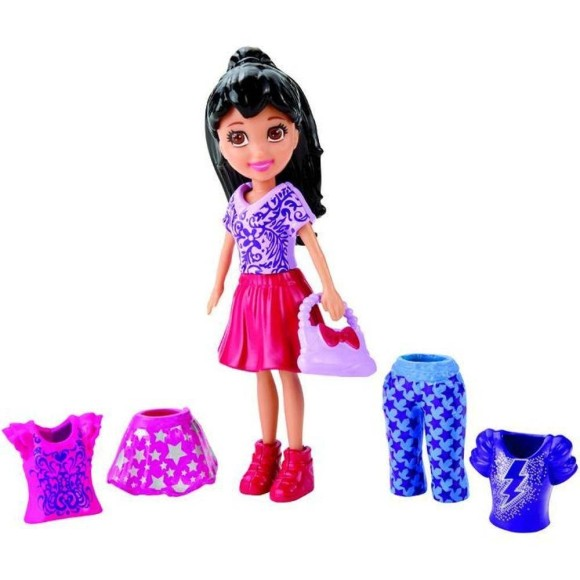 POLLY POCKET SUPER FASHION CRISSY CGJ03 - MATTEL