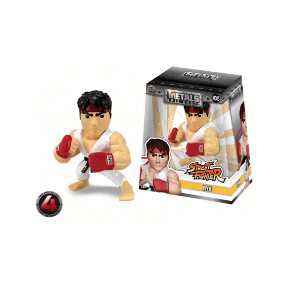 RYU M305 STREET FIGHTER METALS DIE CAST - JADA 10CM