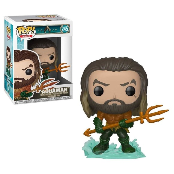 POP AQUAMAN 245 AQUAMAN - FUNKO