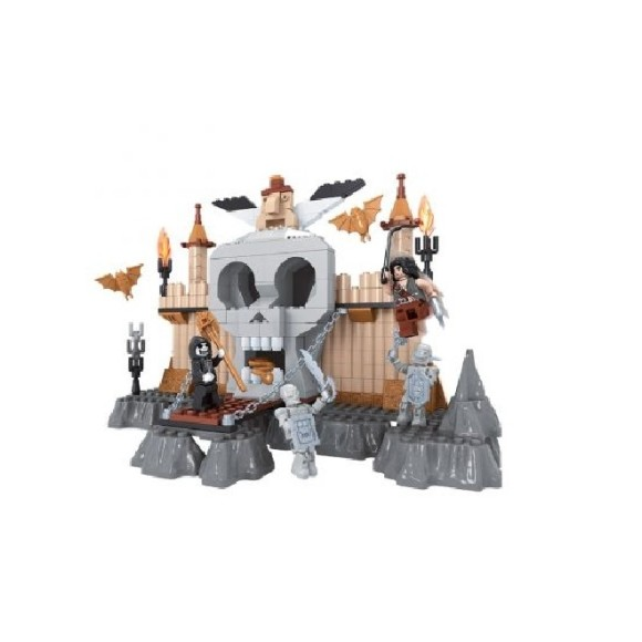BLOCO DE MONTAR MAGIC SCOPE CASTELO FANTASMA 294 PCS 27614 - AUSINI