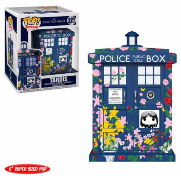 POP TARDIS 227 DOCTOR WHO (FLORES) 15CM - FUNKO