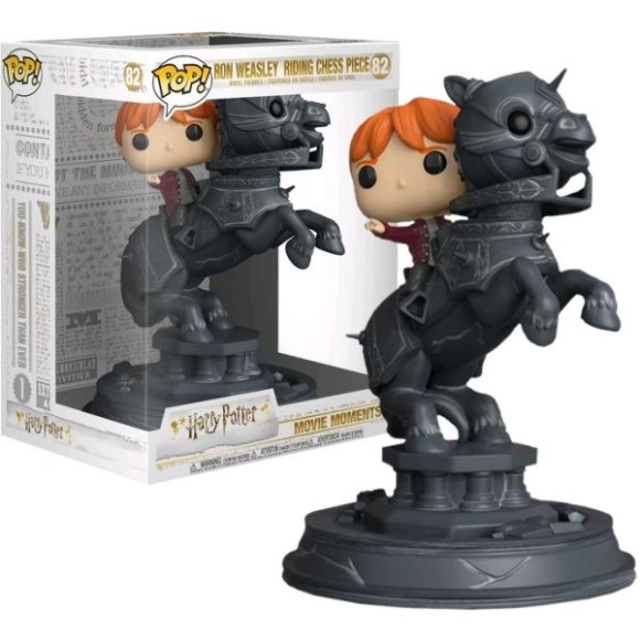 POP RON WEASLEY RIDING CHESS PIECE 82 HARRY POTTER 21CM - FUNKO