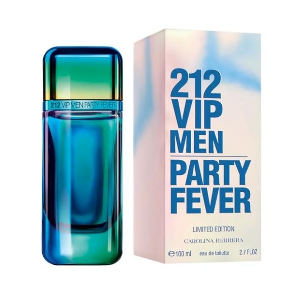 PERFUME 212 VIP MEN PARTY FEVER 100ML CAROLINA HERRERA