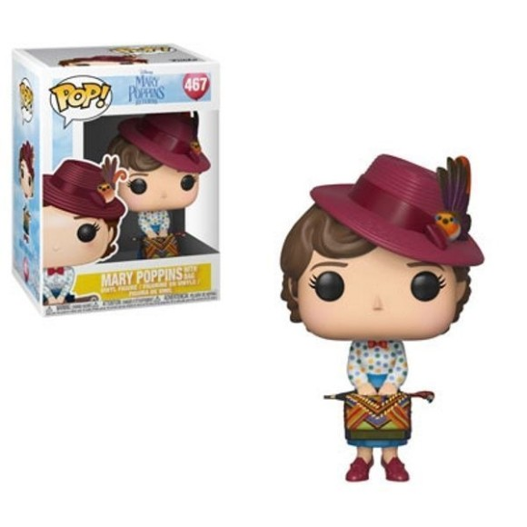 POP MARY POPPINS WITH BAG 467 MARY POPPINS RETURN - FUNKO