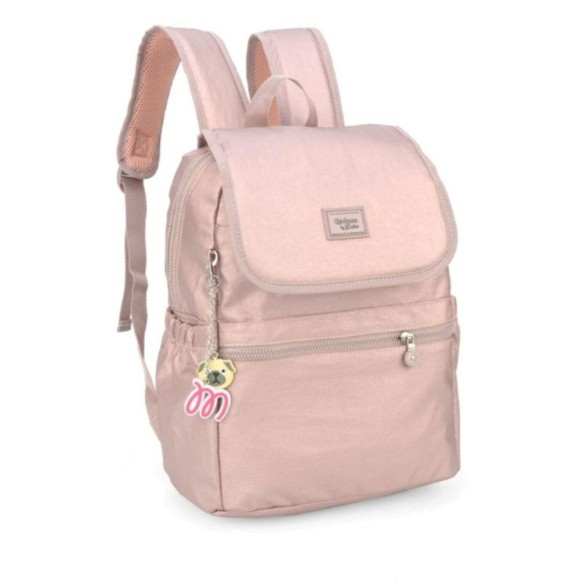 MOCHILA UP4YOU BY MAISA OURO ROSA MS45604UP-OU-R 35CM - LUXCEL