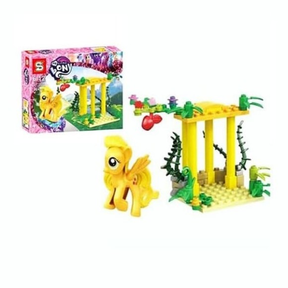 BLOCOS DE MONTAR MY LITTLE PONY 46PCS SY788B
