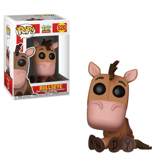 POP BULLSEYE 520 TOY STORY (DISNEY) - FUNKO