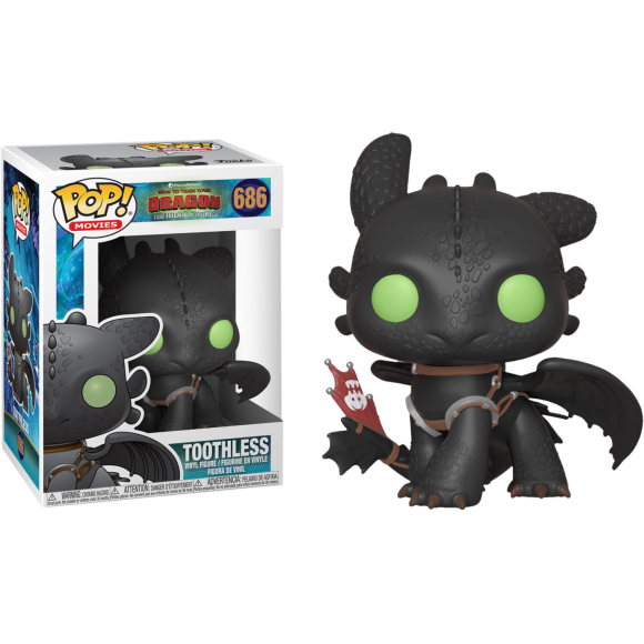 POP TOOTHLESS (BANGUELA) 686 HOW TO TRAIN YOUR DRAGON - FUNKO