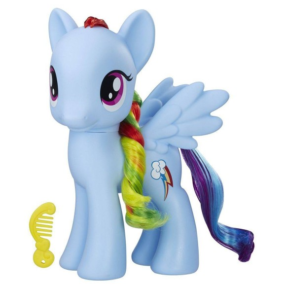 MY LITTLE PONEY PRINCESAS RAINBOW DASH 20CM C2167– HASBRO