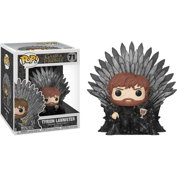 POP TYRION LANNISTER (ON IRON THRONE) 71 GAME OF THRONES- FUNKO