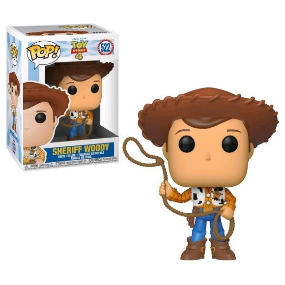 POP SHERIFF WOODY 522 TOY STORY 4 - FUNKO