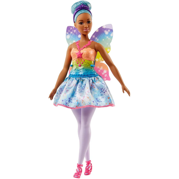 BARBIE FAN BARBIE FADA AZUL FJC87 - MATTEL