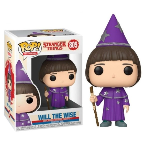 POP WILL THE WISE 805 STRANGER THINGS - FUNKO