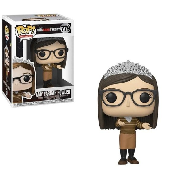 POP AMY FARRAH FOWLER 779 BIG BANG THEORY - FUNKO