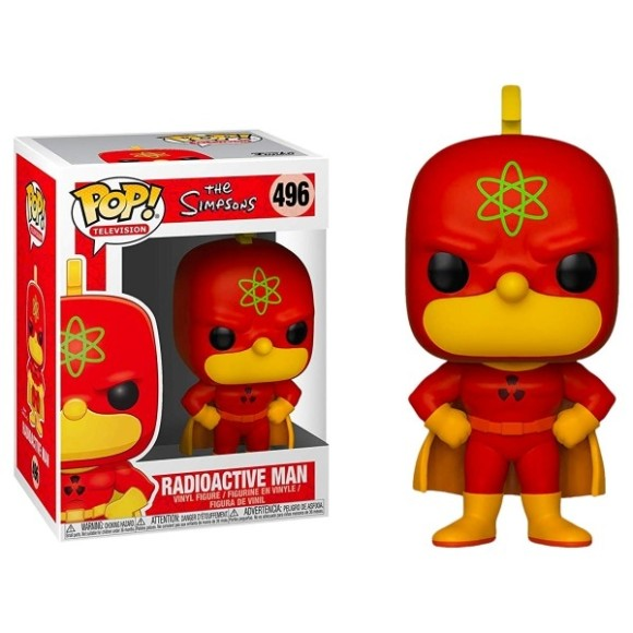 POP HOMER RADIOACTIVE MAN 496 - FUNKO