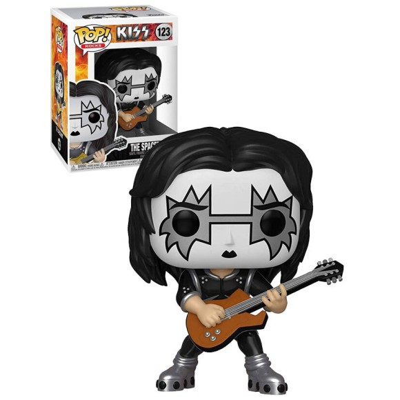 POP THE SPACEMAN 123 KISS (ROCKS) - FUNKO