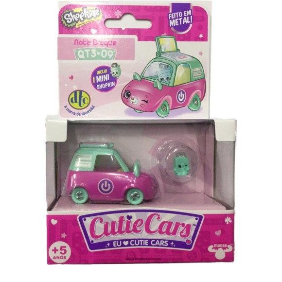 SHOPKINS CUTIE CARS NOTE BREQUE QT3-09 - DTC