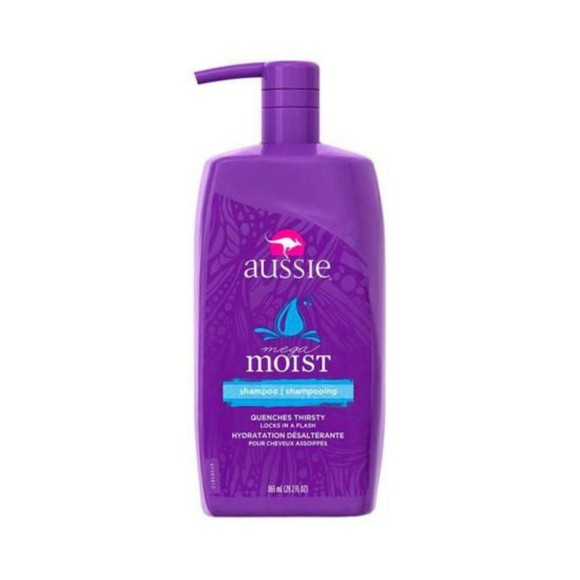 SHAMPOO MEGA MOIST 865ML - AUSSIE