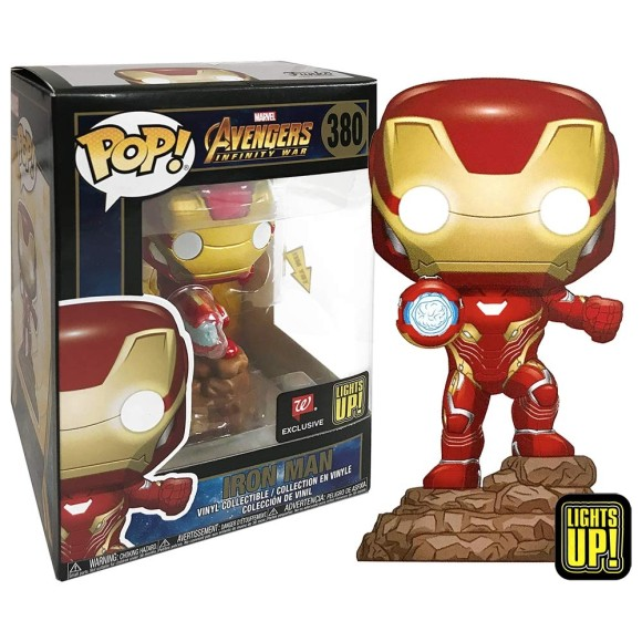 POP IRON MAN LIGHTS UP (SPECIAL EDITION) 380 AVENGERS - FUNKO