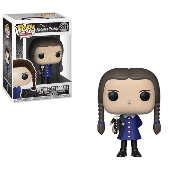 POP WEDNESDAY ADDAMS 811 THE ADDAMS FAMILY -  FUNKO