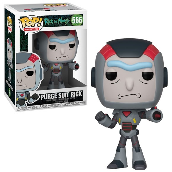 POP PURGE SUIT RICK 566 RICK AND MORTY - FUNKO