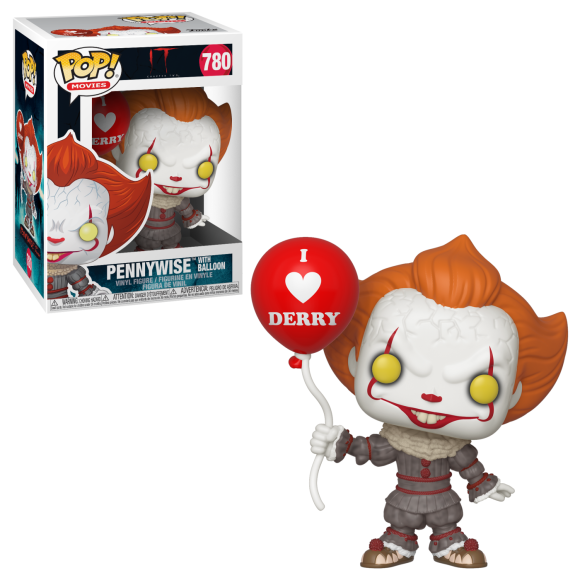 POP PENNYWISE WITH BALLOON 780 IT - FUNKO