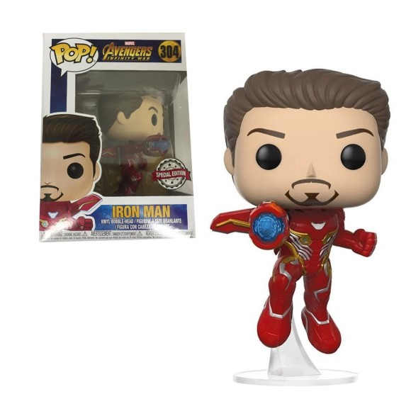 POP IRON MAN (SPECIAL EDITION) 304 AVENGERS - FUNKO