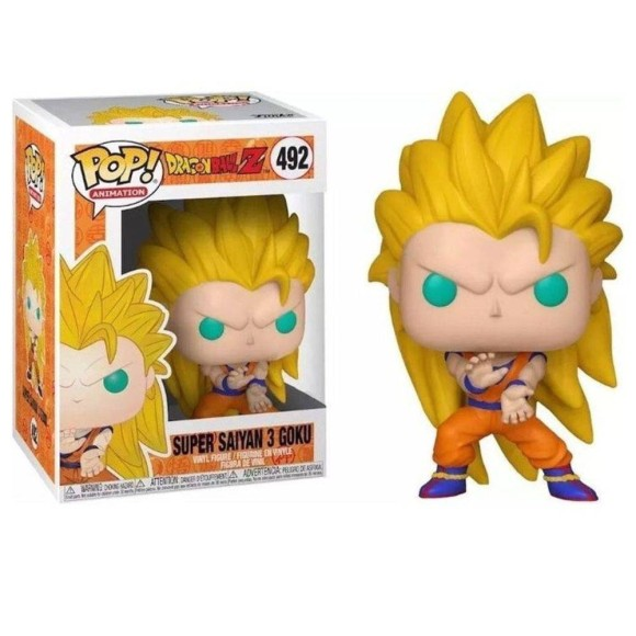 POP SUPER SAIYAN 3 GOKU 492 DRAGON BALL Z - FUNKO