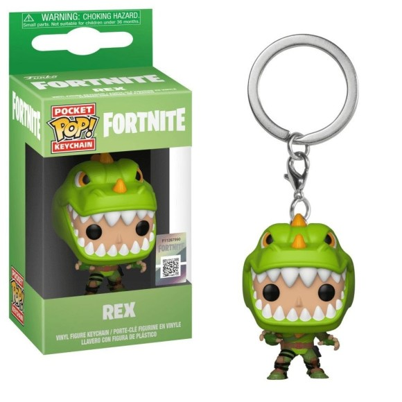 POP KEYCHAIN REX FORTNITE - FUNKO