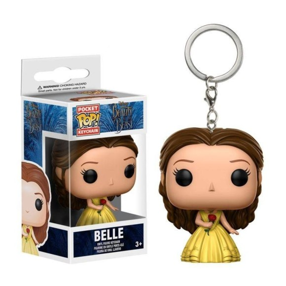 POP KEYCHAIN BELLE THE BEAUTY AND THE BEAST- FUNKO