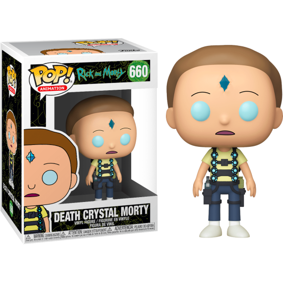 POP DEATH CRYSTAL MORTY 660 RICK AND MORTY - FUNKO