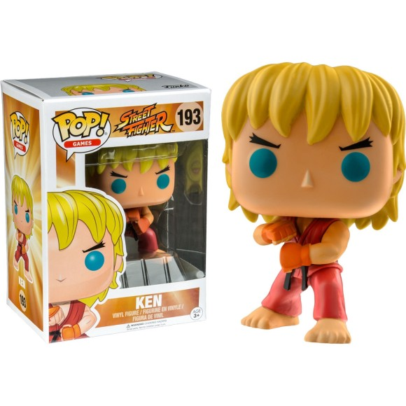 POP KEN 193 STREET FIGHTER - FUNKO