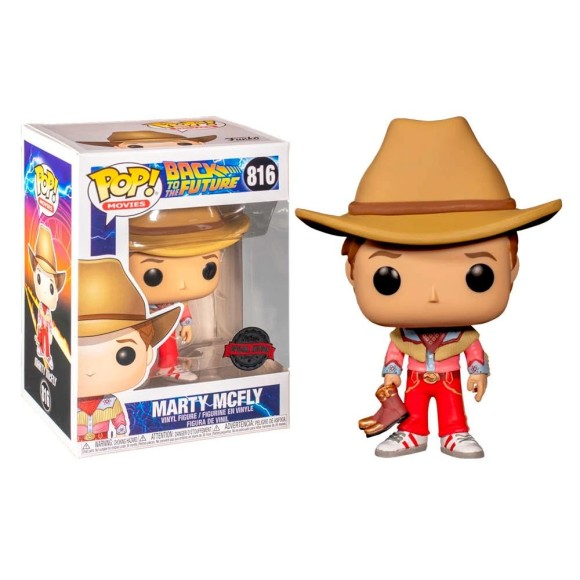 POP MARTY MCFLY (SPECION EDITION) 816  BACK TO THE FUTURE - FUNKO