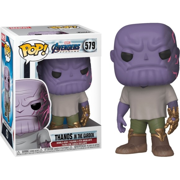 POP THANOS IN THE GARDEN 579 AVENGERS ENDGAME - FUNKO