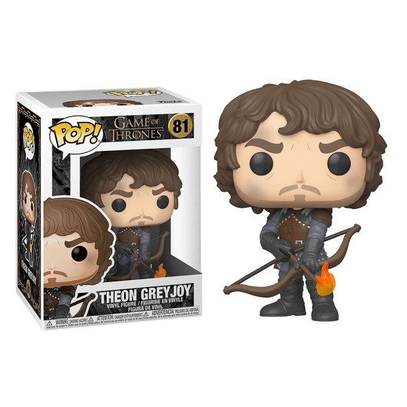 POP THEON GREYJOY 81 GAME OF THRONES - FUNKO