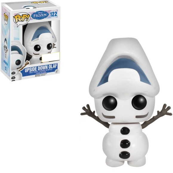 POP UPSIDE DOWN OLAF 122 FROZEN - FUNKO