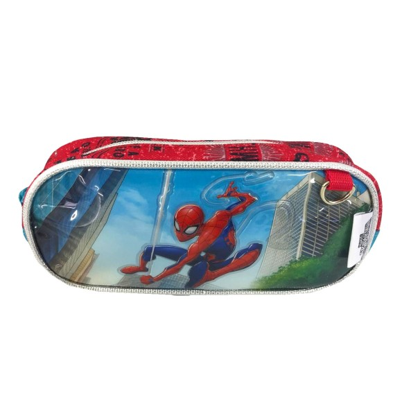 ESTOJO INFANTIL SPIDERMAN 1 ZIPER 20CM SP1903