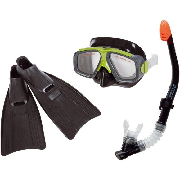 KIT DE MERGULHO SPORT AVIADOR 39/42 55959 - INTEX