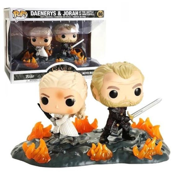 POP DAENERYS E JORAH 86 GAME OF THRONES - FUNKO