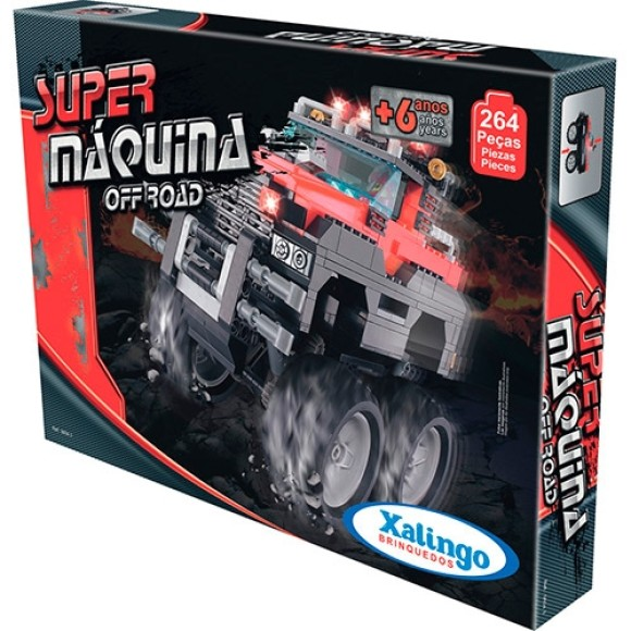 BLOCOS SUPER MAQUINA OFF ROAD 264 PC 0604.3 - XALINGO