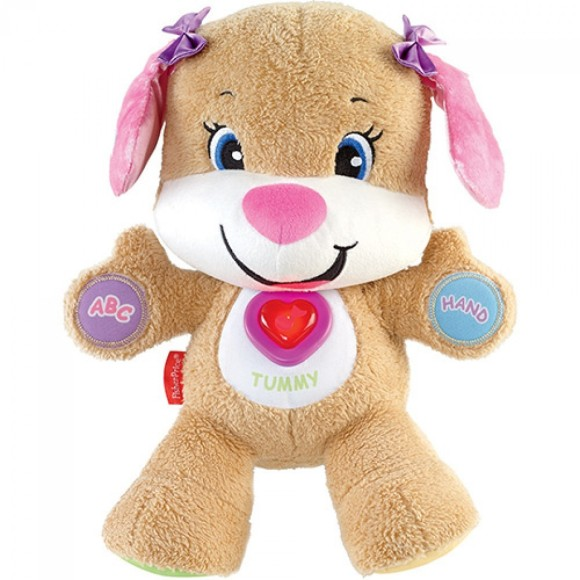 CACHORRINHA INTERATIVA PELÚCIA 30 CM CGR50 - FISHER PRICE