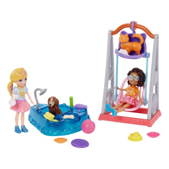 POLLY BRINCANDO BALANCO PET GFR06 - MATTEL
