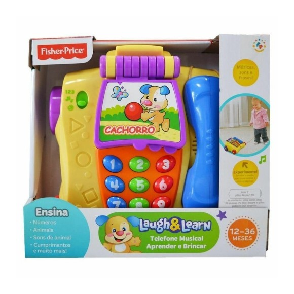 TELEFONE MUSICAL Y9852 - FISHER PRICE