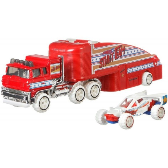 HOT WHEELS CAMINHAO TRANSPORTADOR STUNIN SEMI GBF13 - MATTEL