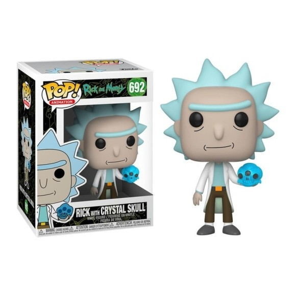 POP RICK WITH CRYSTAL SKULL 692 RICK AND MORTY - FUNKO