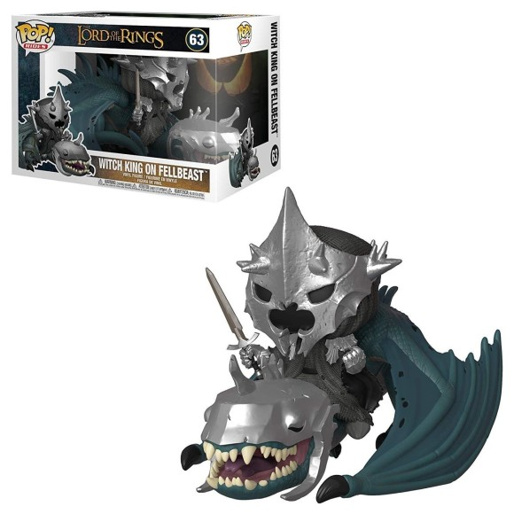 POP WITCH KING ON FALLBEAST 63 THE LORD OF THE RINGS - FUNKO
